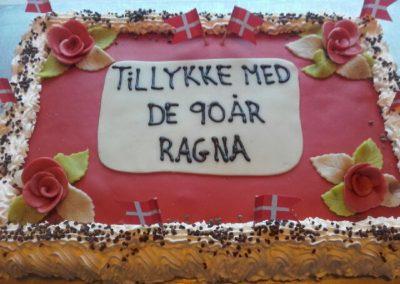 Fødselsdags lagkage m fløde og marcipan-Nørregades-Bageri-Farsø